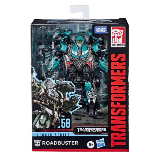 Transformers Generations Deluxe Robot Roadbuster