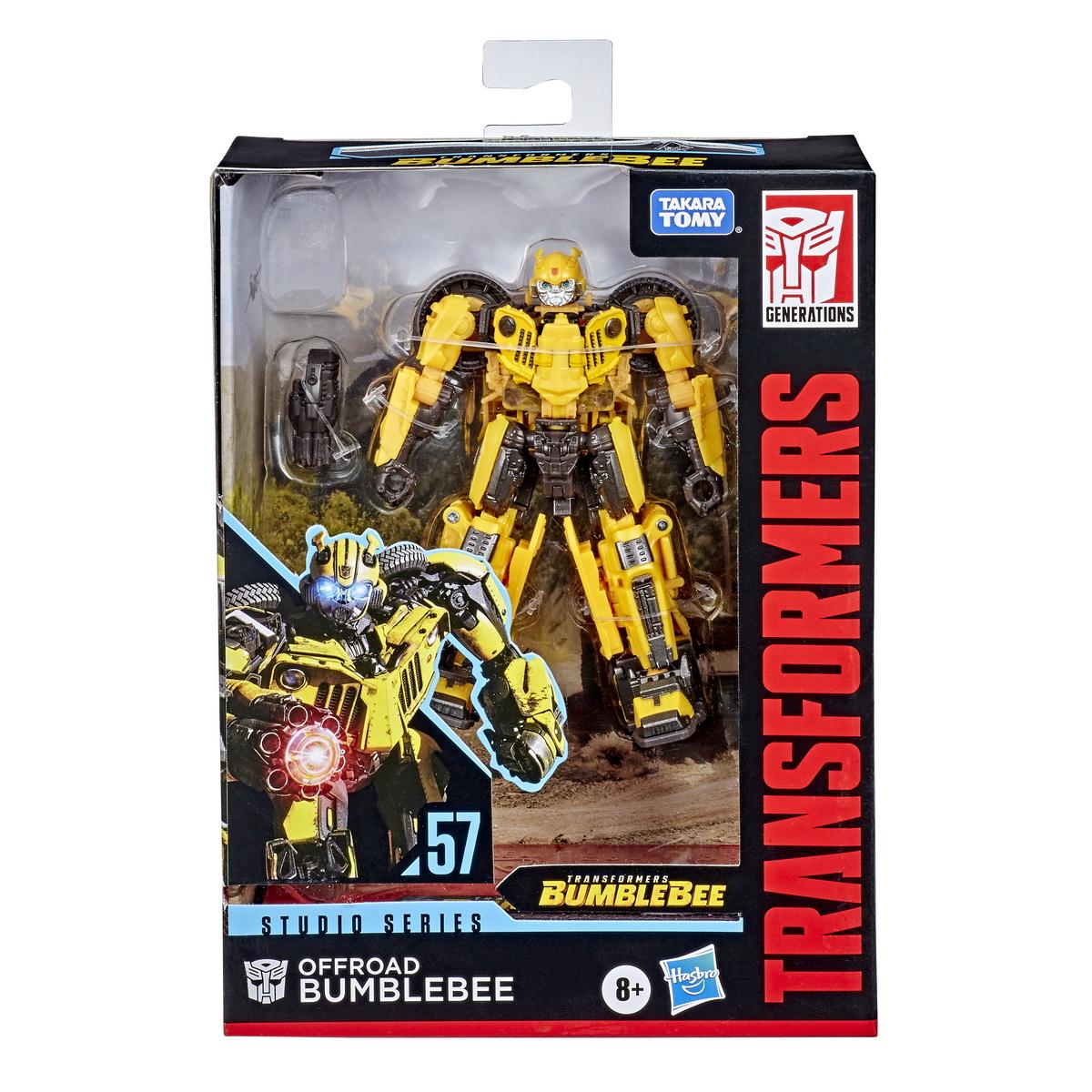 Transformers Generations Deluxe Robot Bumblebee Offroad