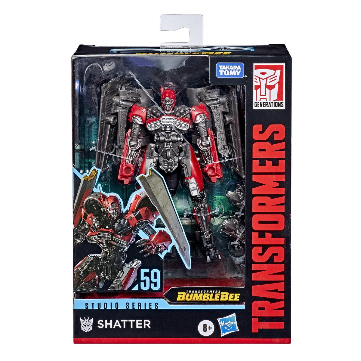 Transformers Generations Deluxe Robot Shatter