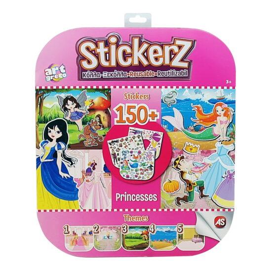 Set 150 De Autocolante Stickerz Reutilizabile Printese