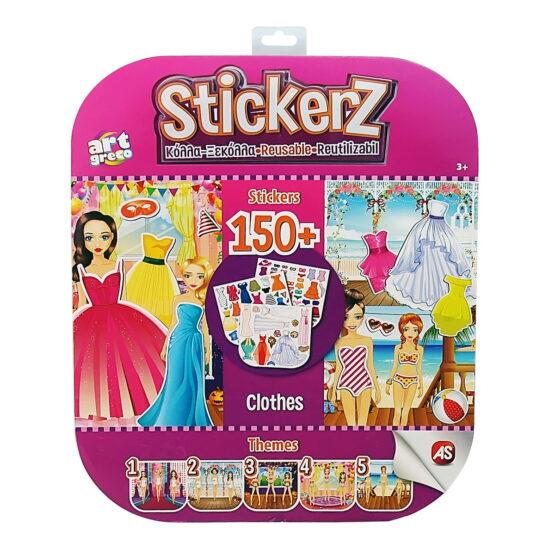 Set 150 De Autocolante Stickerz Reutilizabile Mereu La Moda