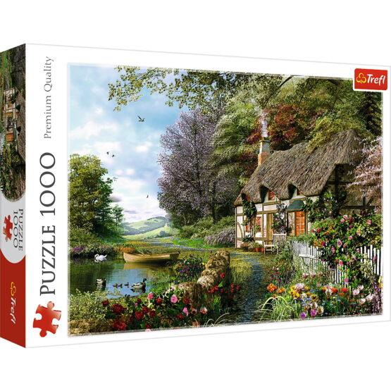 Puzzle Trefl 1000 Casuta De Pe Lac