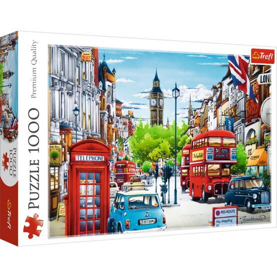 Puzzle Trefl 1000 Strada In Londra
