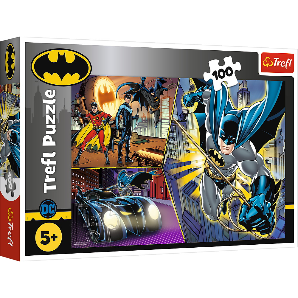 Puzzle Trefl 100 Batman Neinfricatul