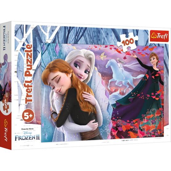 Puzzle Trefl 100 Frozen2 Impreuna Pentru Intodeauna