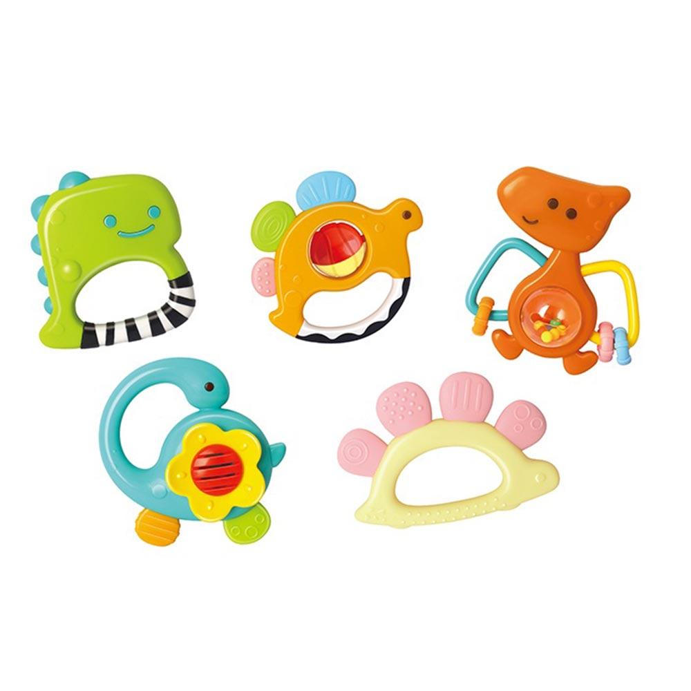 Set 5 Zornaitoari Dinozauri Multicolori