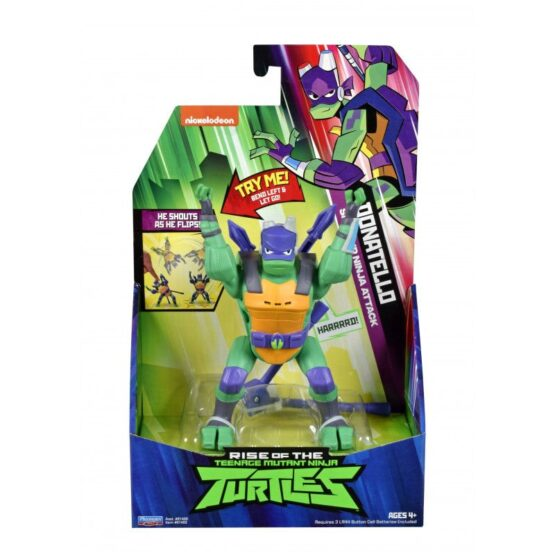 Testoasele Ninja Figurina Donatello Sare Peste Cap