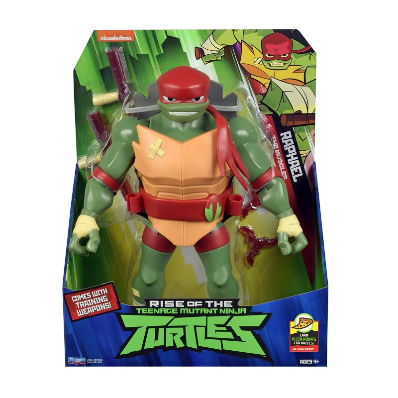 Testoasele Ninja Figurina Raphael Gigant Cu Accesorii De Lupta