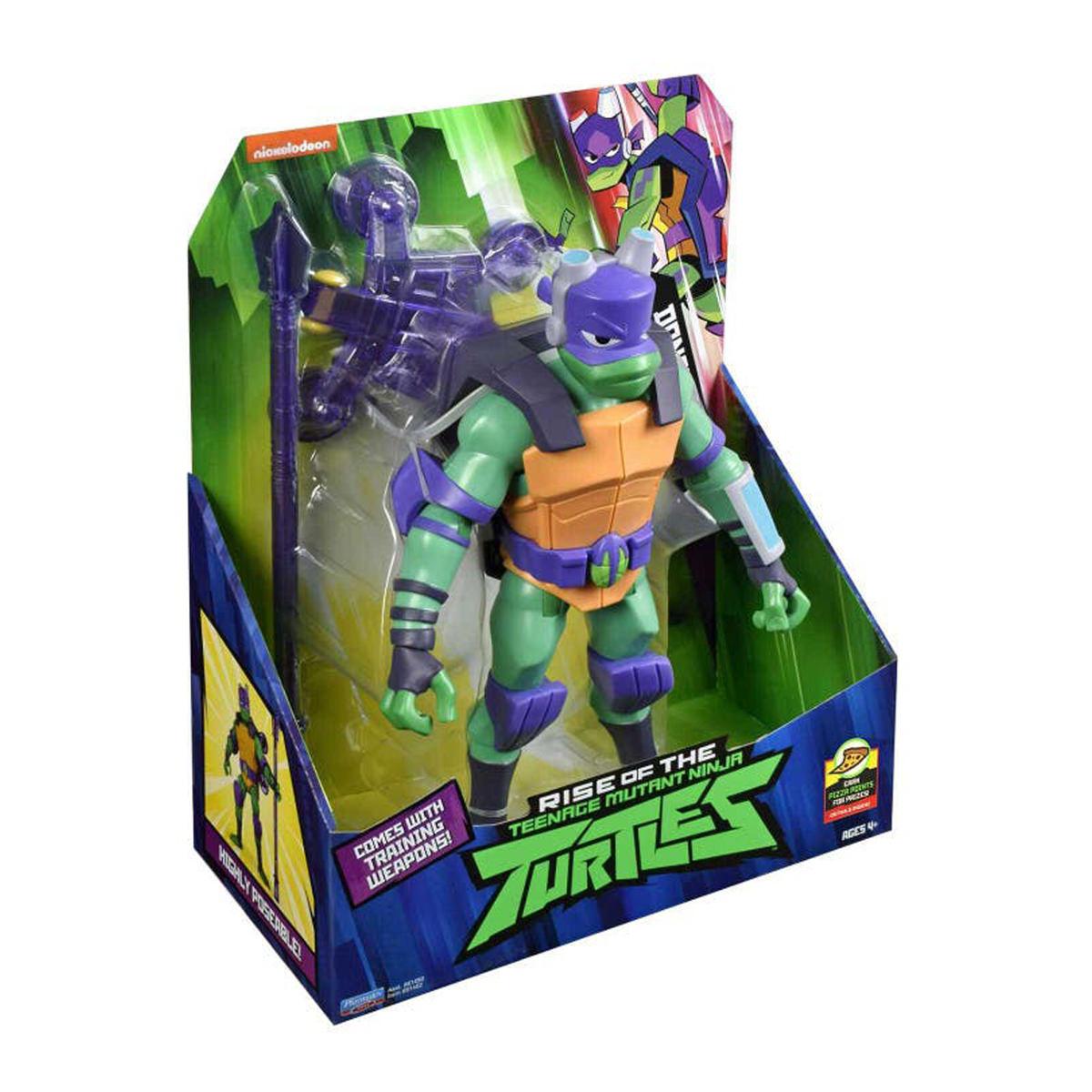 Testoasele Ninja Figurina Donatello Gigant Cu Accesorii De Lupta