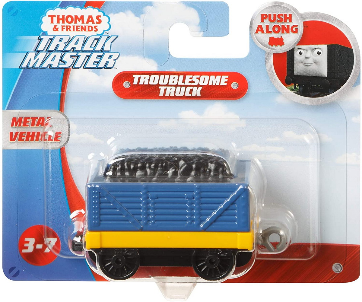 Thomas Locomotiva Push Along Troublesame Truck