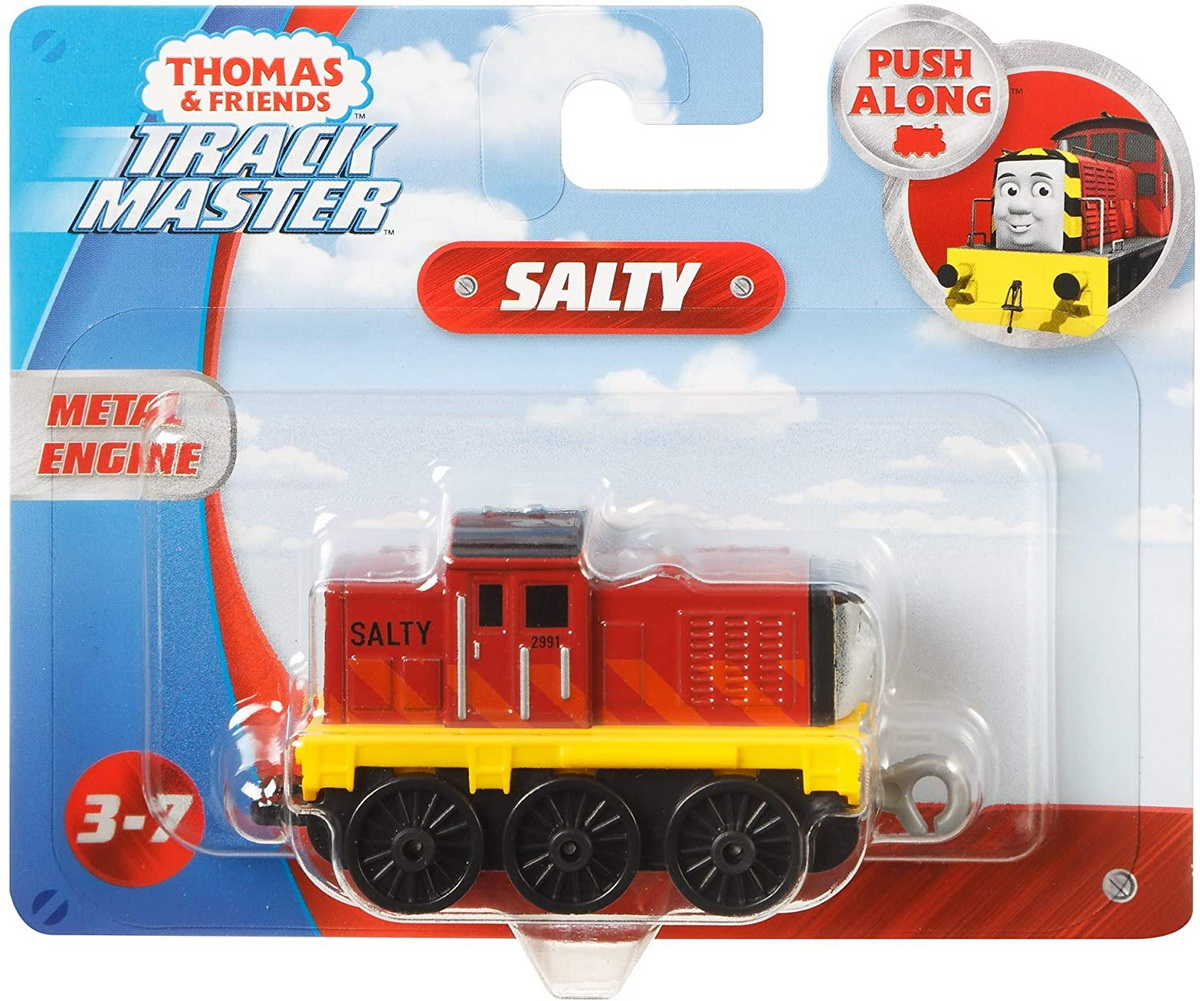 Thomas Locomotiva Cu Vagon Push Along Salty