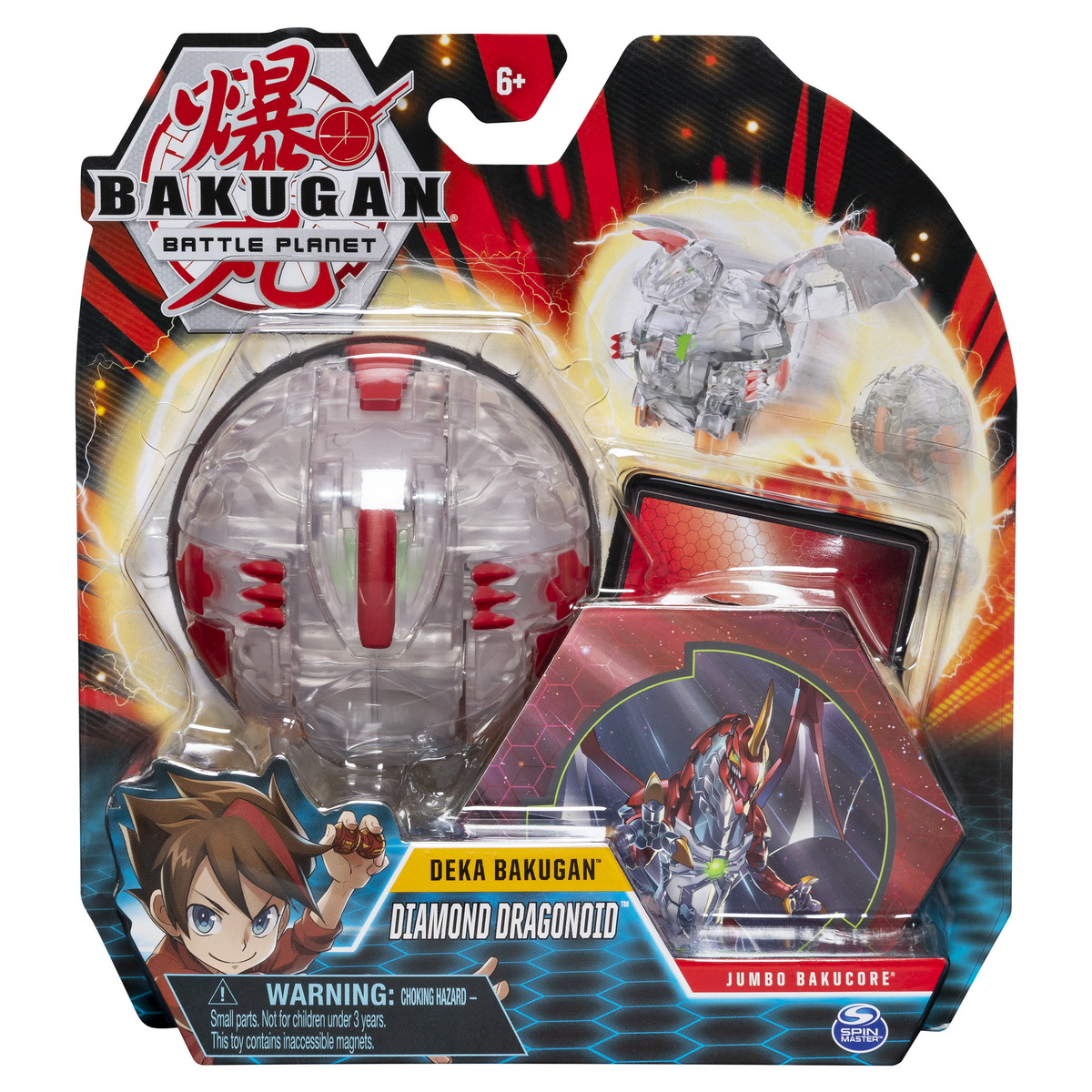 Bakugan Deka Jumbo Diamond Dragonoid