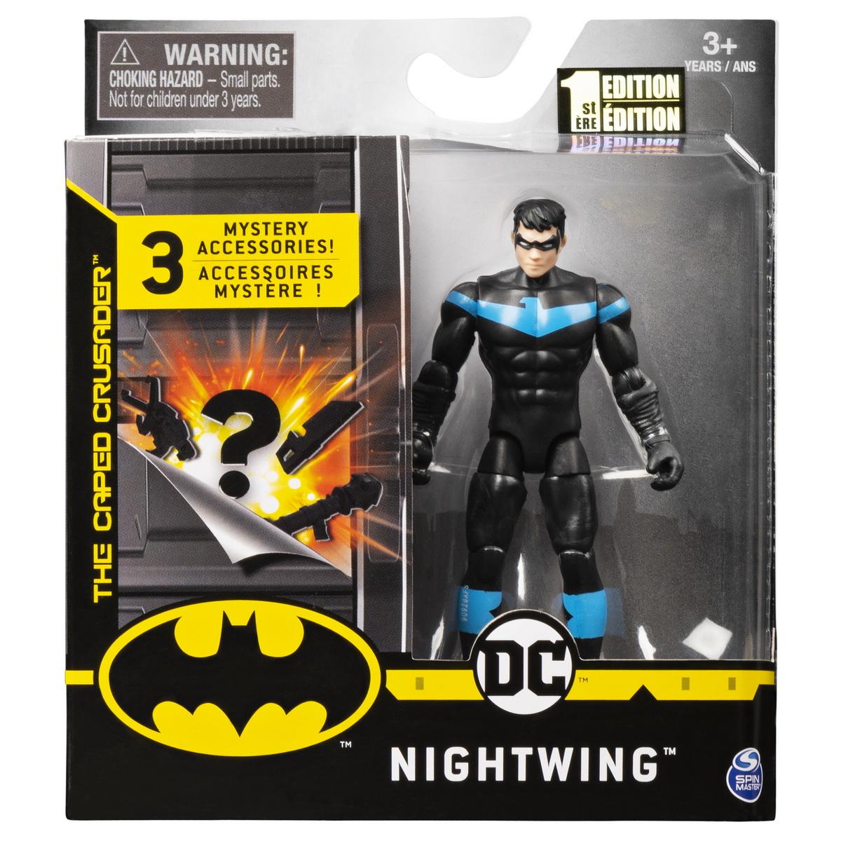 Figurina Nightwing 10cm Cu 3 Accesorii