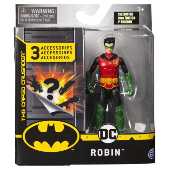 Figurina Robin 10cm Cu Trei Accesorii Surpriza
