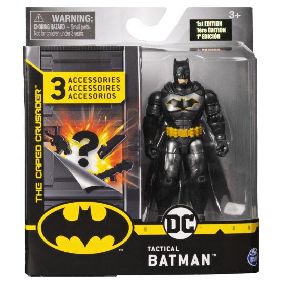 Figurina Batman 10cm Cu Trei Accesorii Surpriza