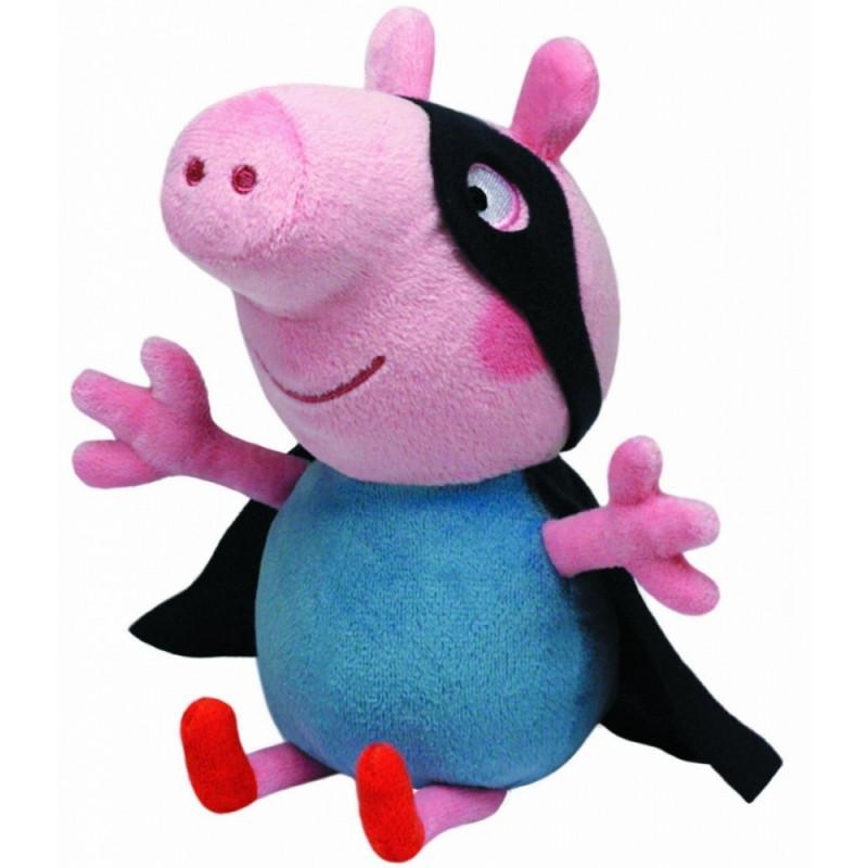 Plus Ty 28cm Peppa Pig Super Erou