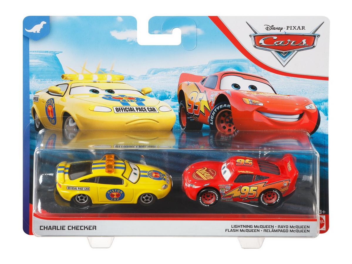 Cars3 Set 2 Masinute Metalice Charlie Checker Si Mcqueen