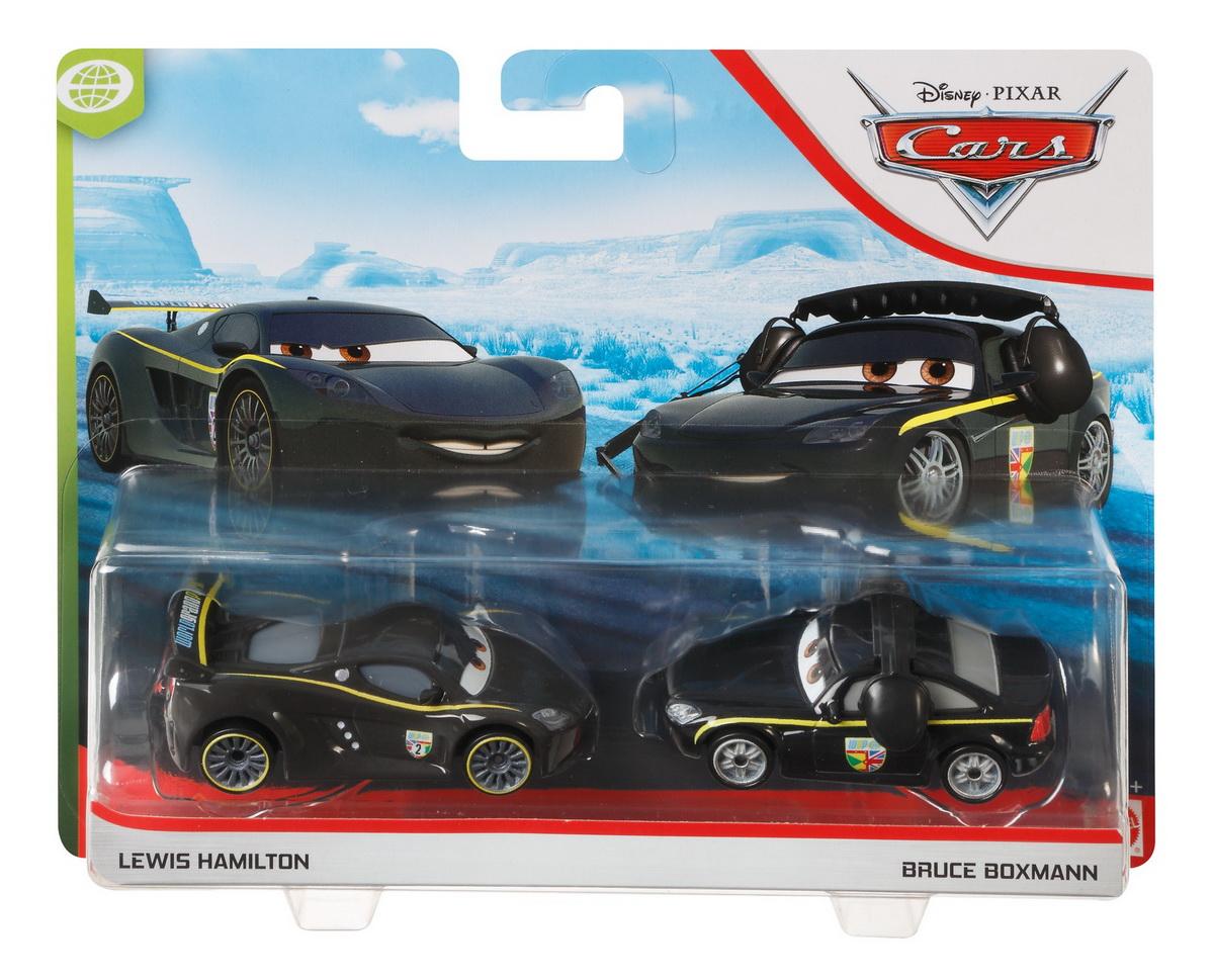 Cars3 Set 2 Masinute Metalice Lewis Hamilton Si Bruce Boxmann