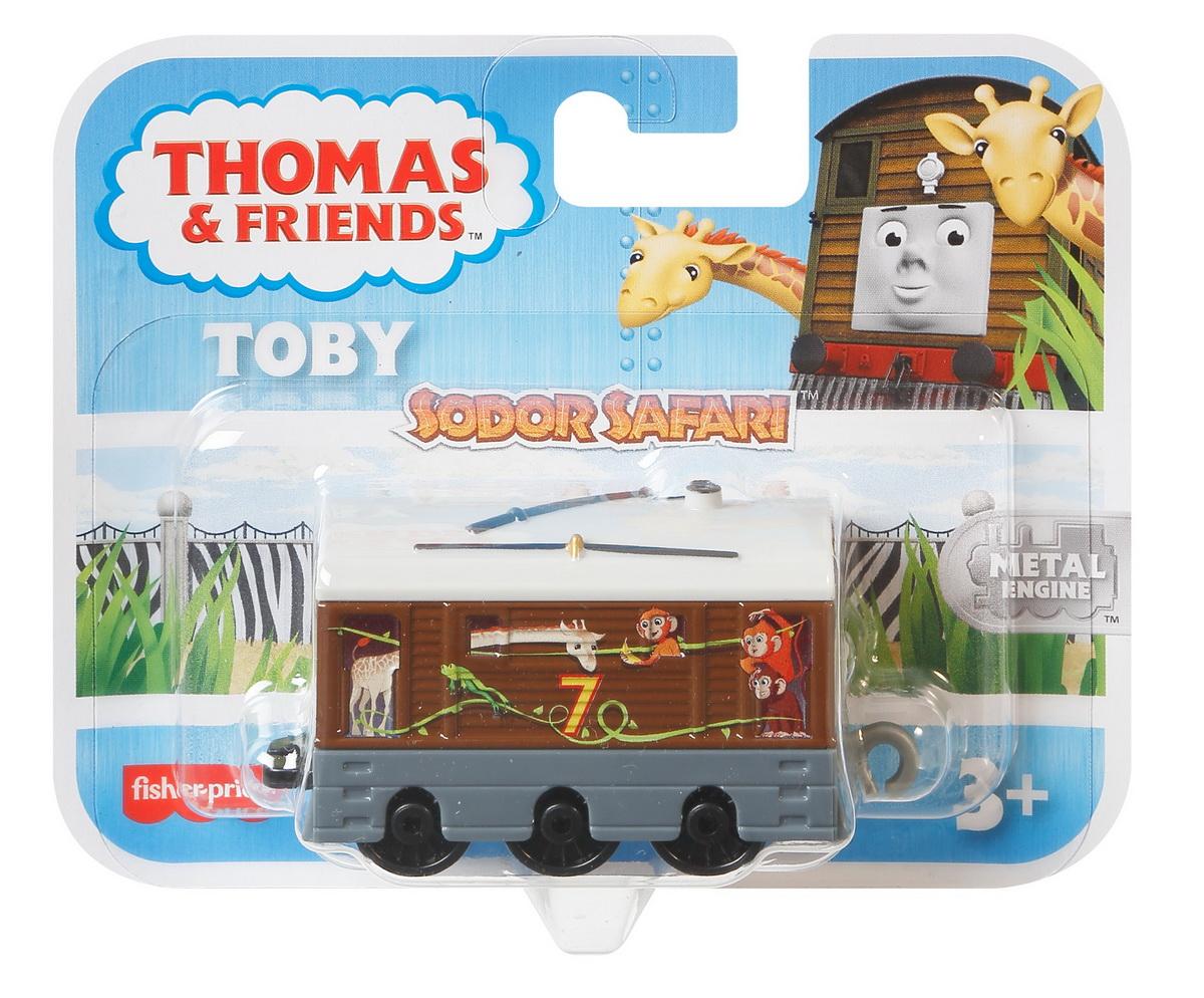 Thomas Locomotiva De Impins Safari Toby