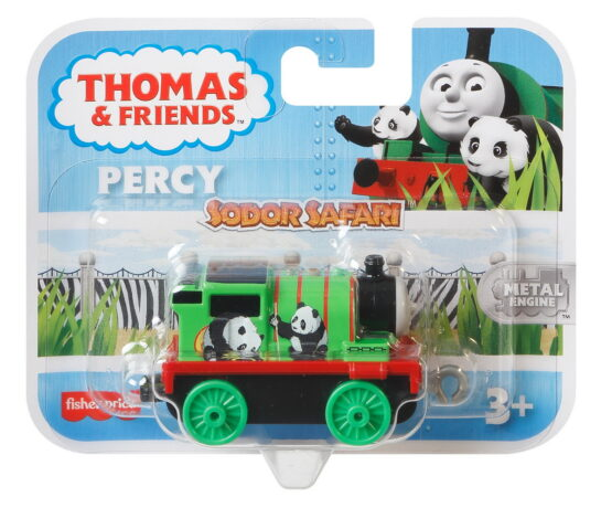 Thomas Locomotiva De Impins Safari Percy