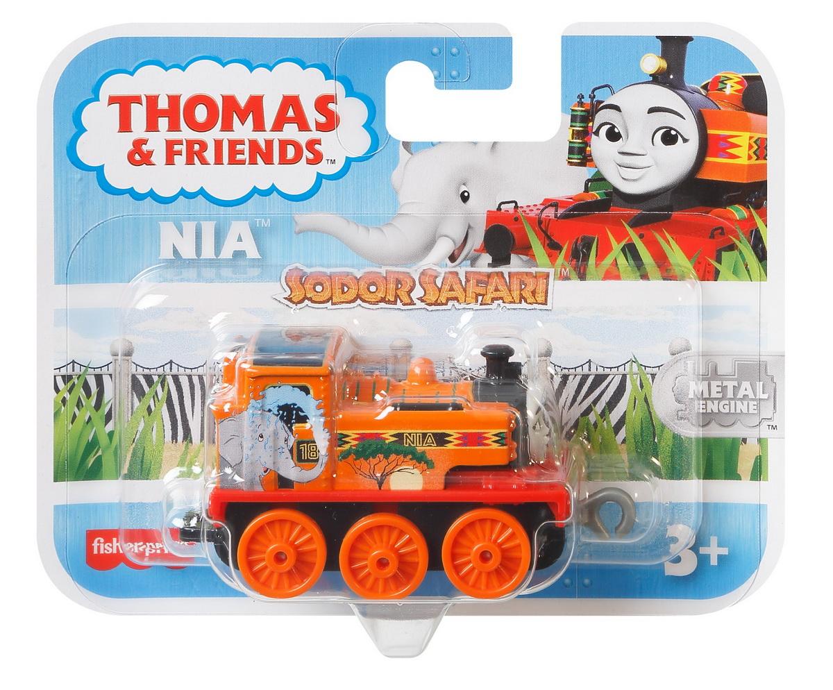 Thomas Locomotiva De Impins Safari Nia