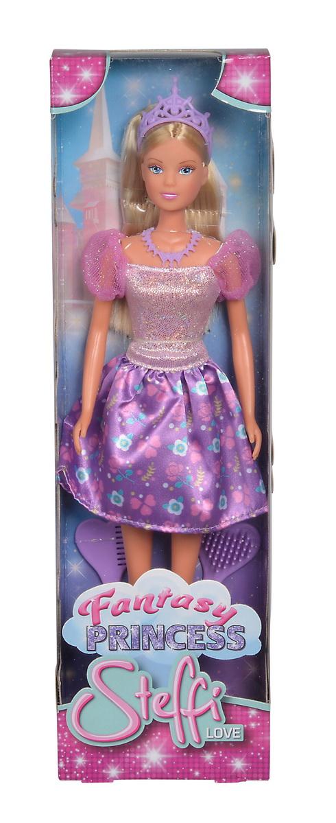 Papusa Steffi Fantasy Princess Cu Rochita Mov