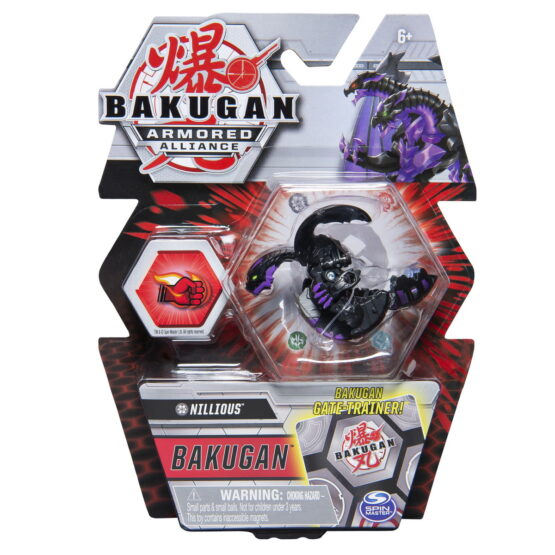 Bakugan S2 Bila Basic Nillious Cu Card Baku-gear