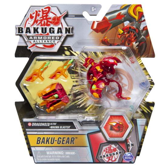 Bakugan S2 Bila Ultra Dragonoid Cu Echipament Baku-gear Magma Blaster