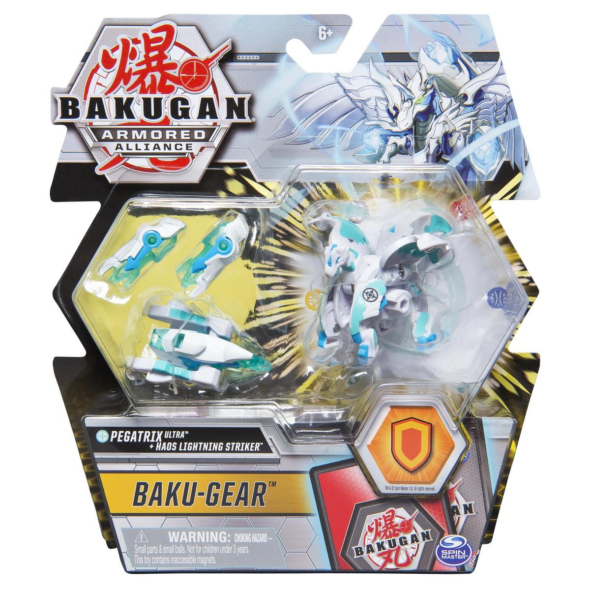 Bakugan S2 Bila Ultra Pegatrix Cu Echipament Baku-gear Haos Lightning Striker