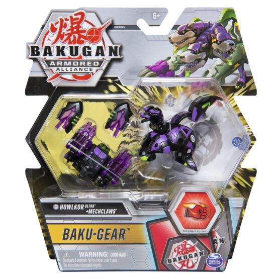 Bakugan S2 Bila Ultra Howlkor Cu Echipament Baku-gear Mechclaws