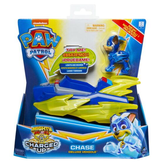 Patrula Catelusilor Vehicul Cu Figurina Chase Sunete Si Lumini