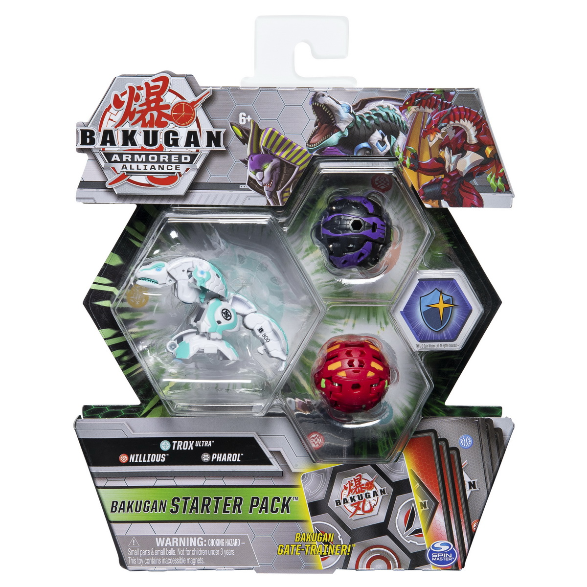 Bakugan S2 Pachet De Start Nillious Pharol Si Trox Ultra