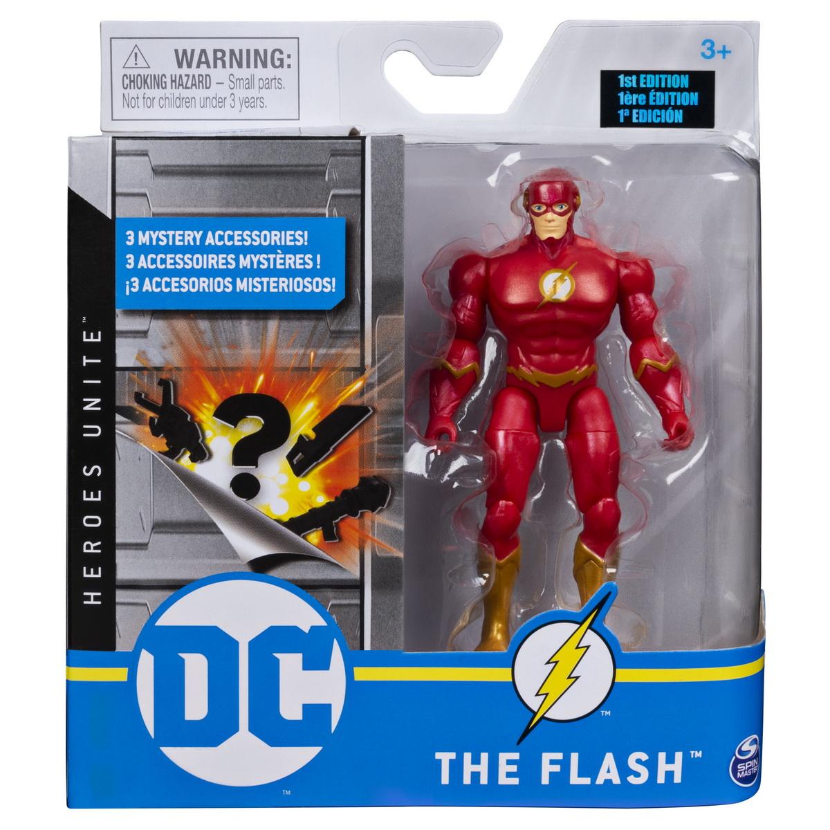Figurina Flash Flexibila 10cm Si Cu Accesorii