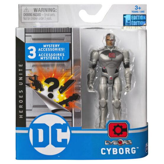 Figurina Cyborg Flexibila 10cm Cu Accesorii