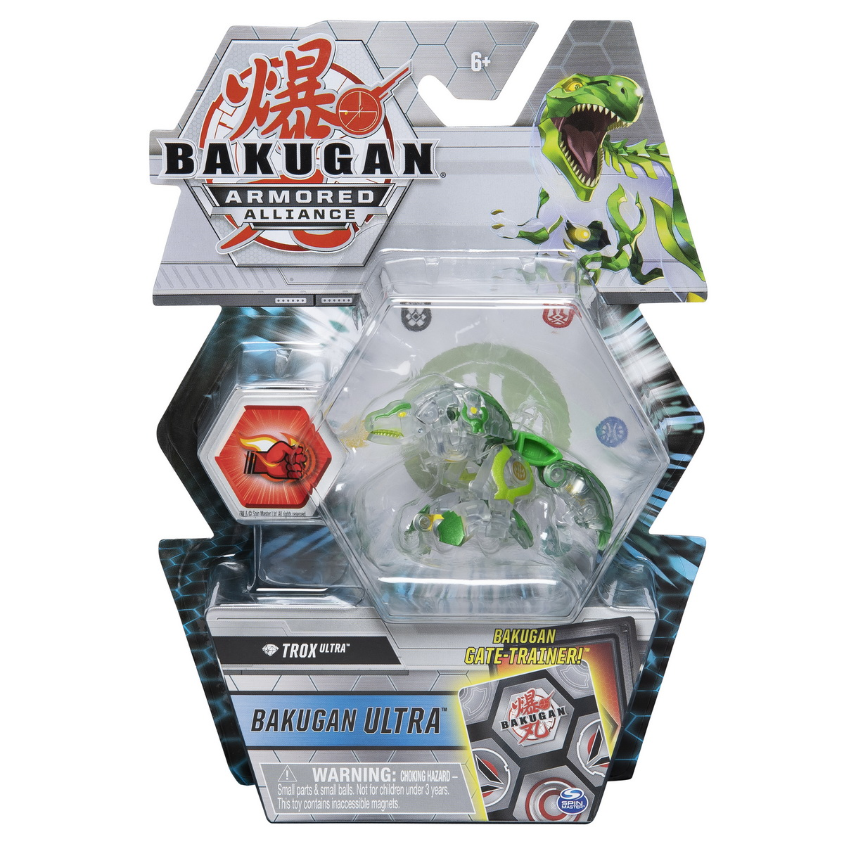 Bakugan S2 Bila Ultra Trox Cu Card Baku-gear