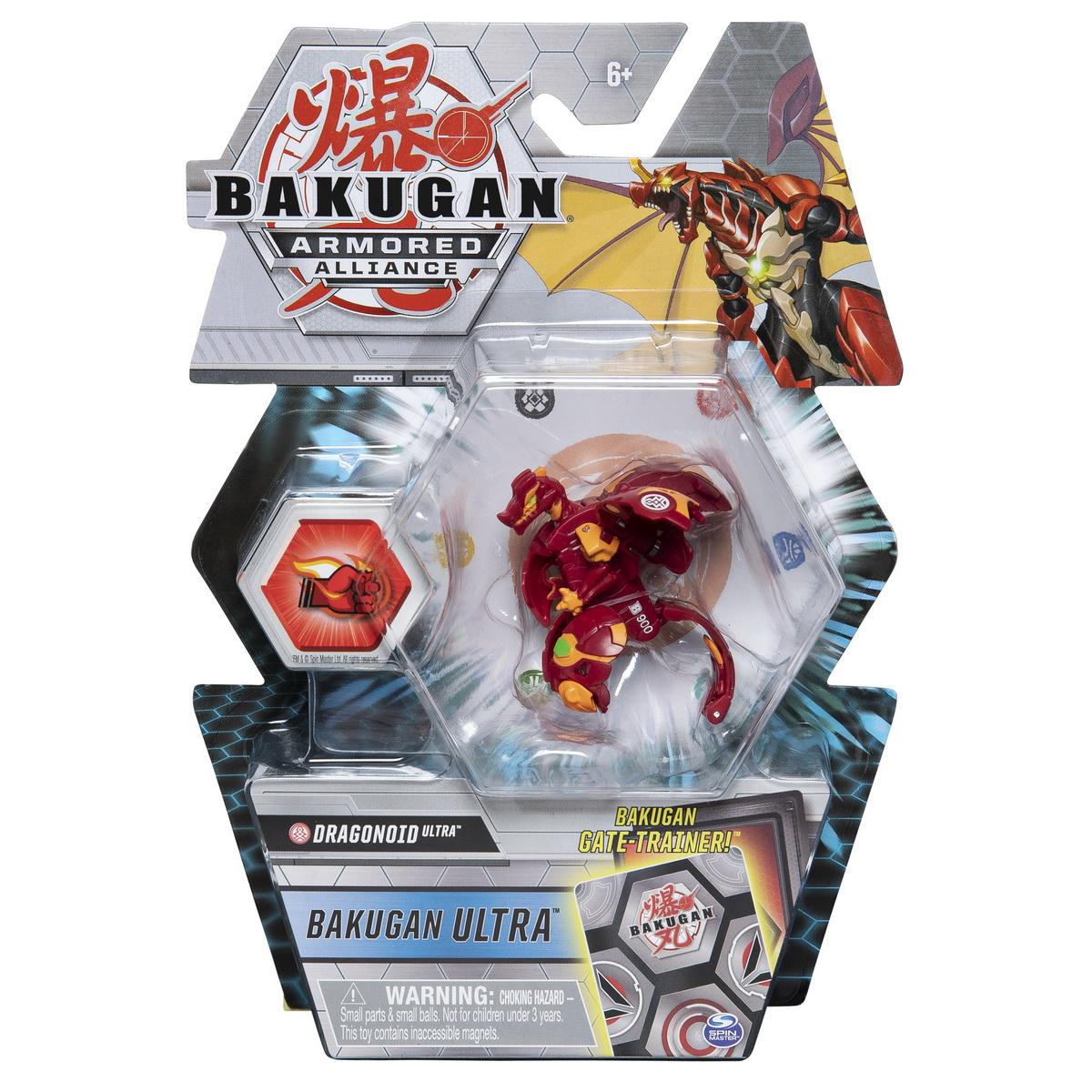 Bakugan S2 Bila Ultra Dragonoid Cu Card Baku-gear