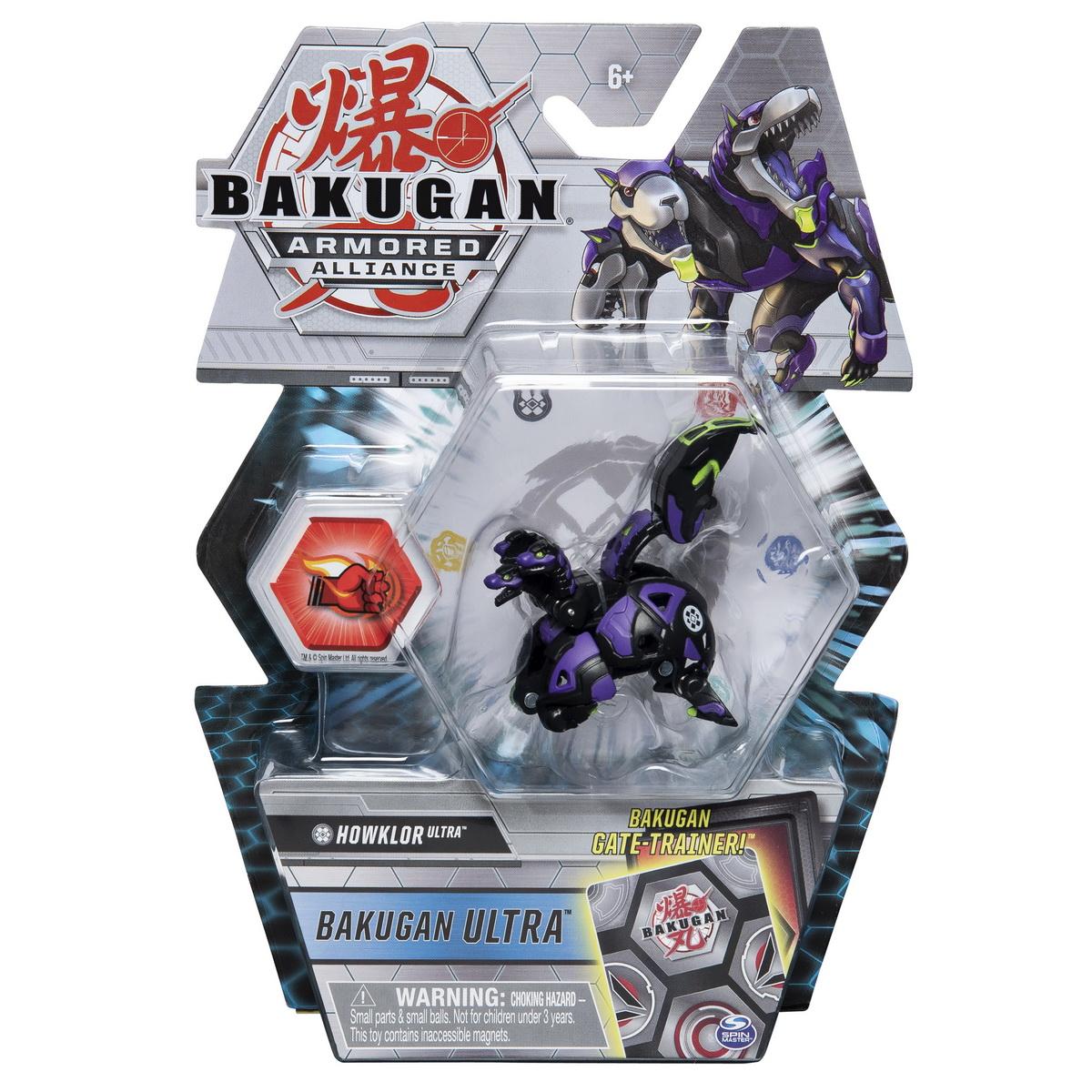 Bakugan S2 Bila Ultra Howlkor Cu Card Baku-gear