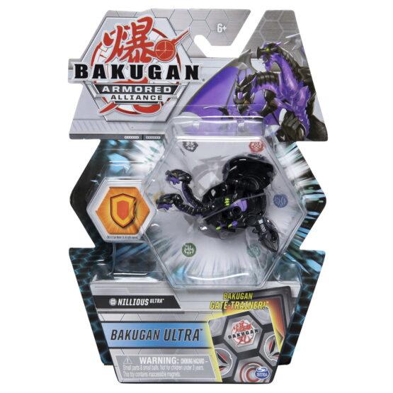 Bakugan S2 Bila Ultra Nillious Cu Card Baku-gear