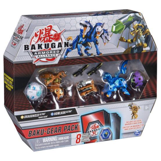 Bakugan S2 Set De Lupta Ultra Howlkor Si Dragonoid Cu Baku-gear