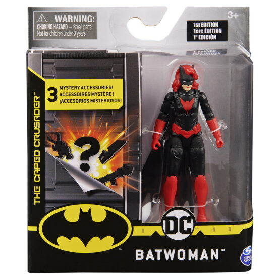 Figurina Batwoman Flexibila 10cm Cu 3 Cate Accesorii
