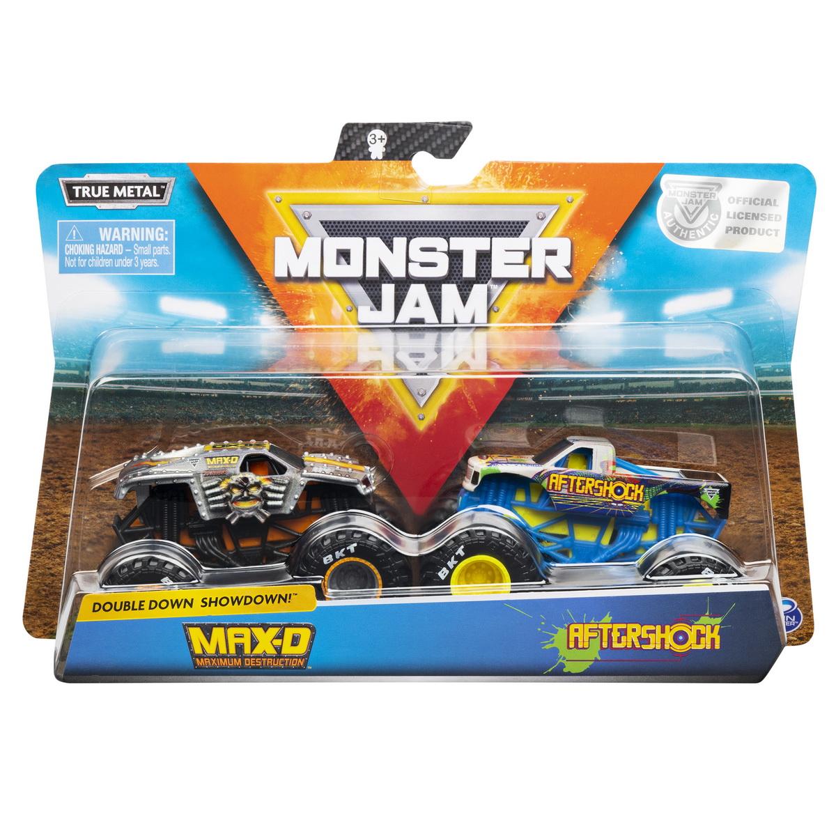 Monster Jam Set 2 Machete Max-d Si Aftershock