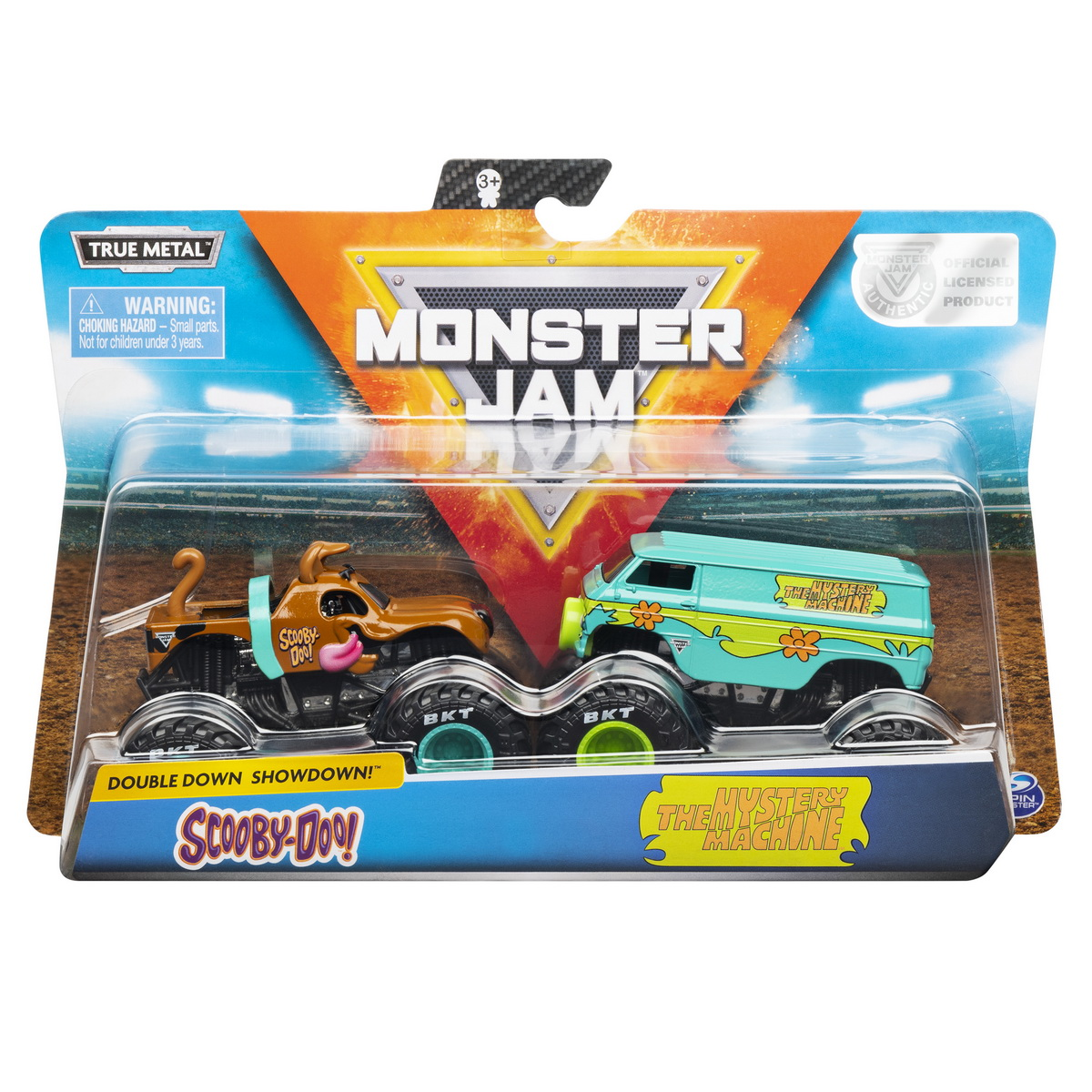 Monster Jam Set 2 Machete Metalice Scooby Doo Si The Mystery Machine