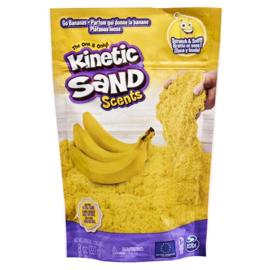 Kinetic Sand Set Parfumat Banane