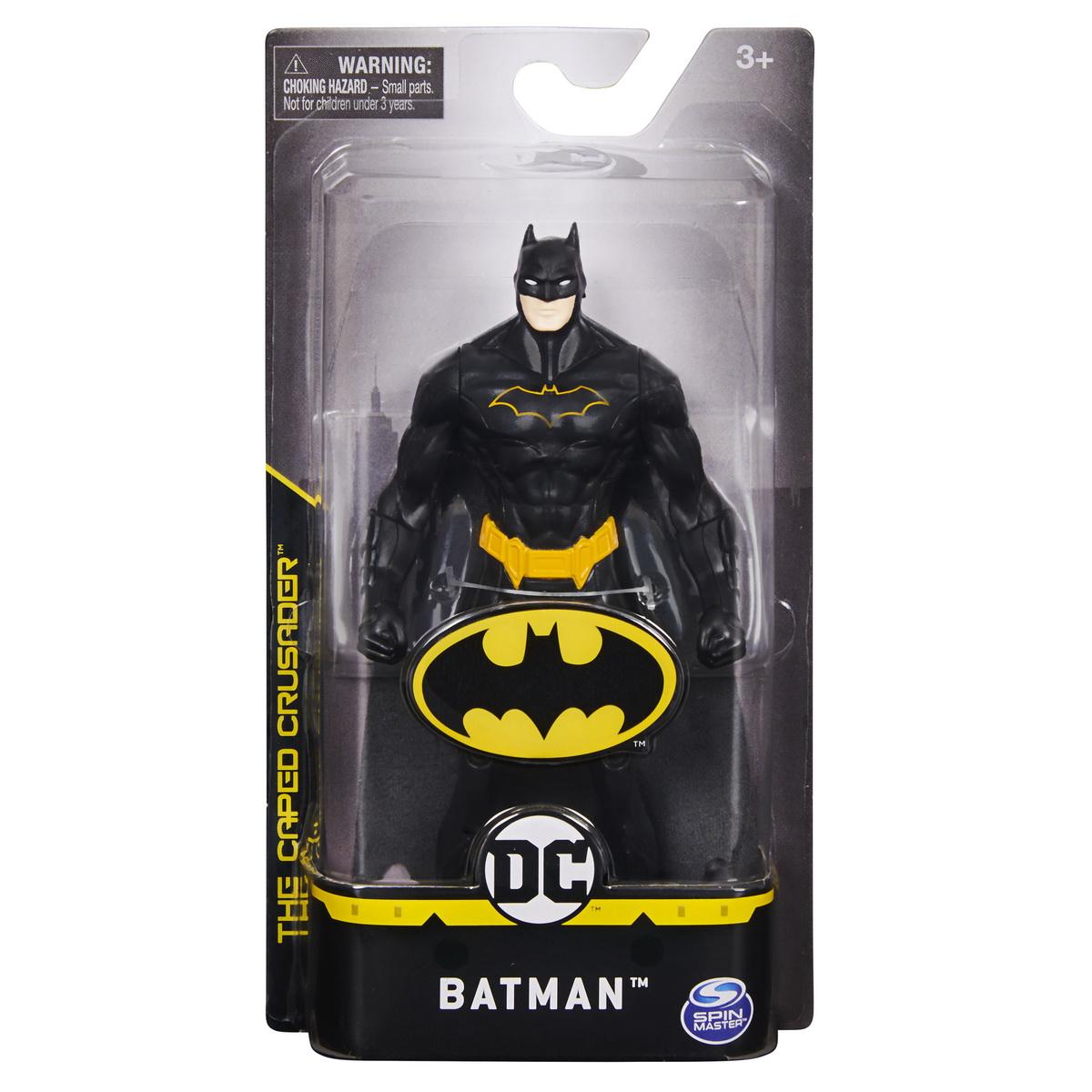 Figurina Batman 15cm Cu Costum Complet Negru