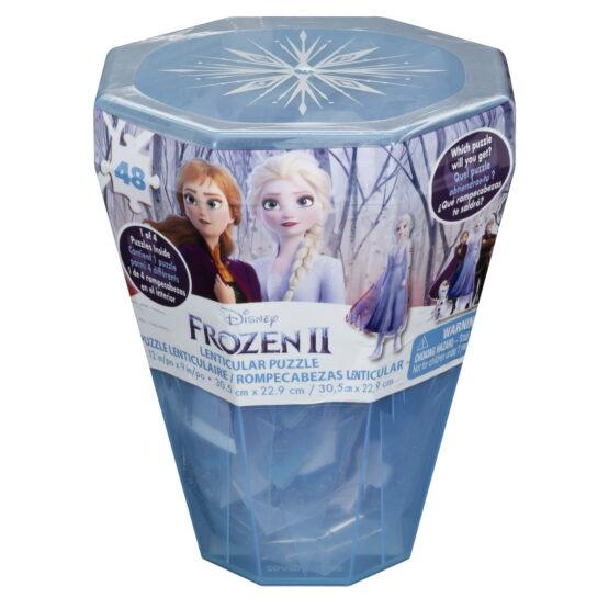 Puzzle Surpriza Frozen2 Cu 48 Piese In Cutie Diamant