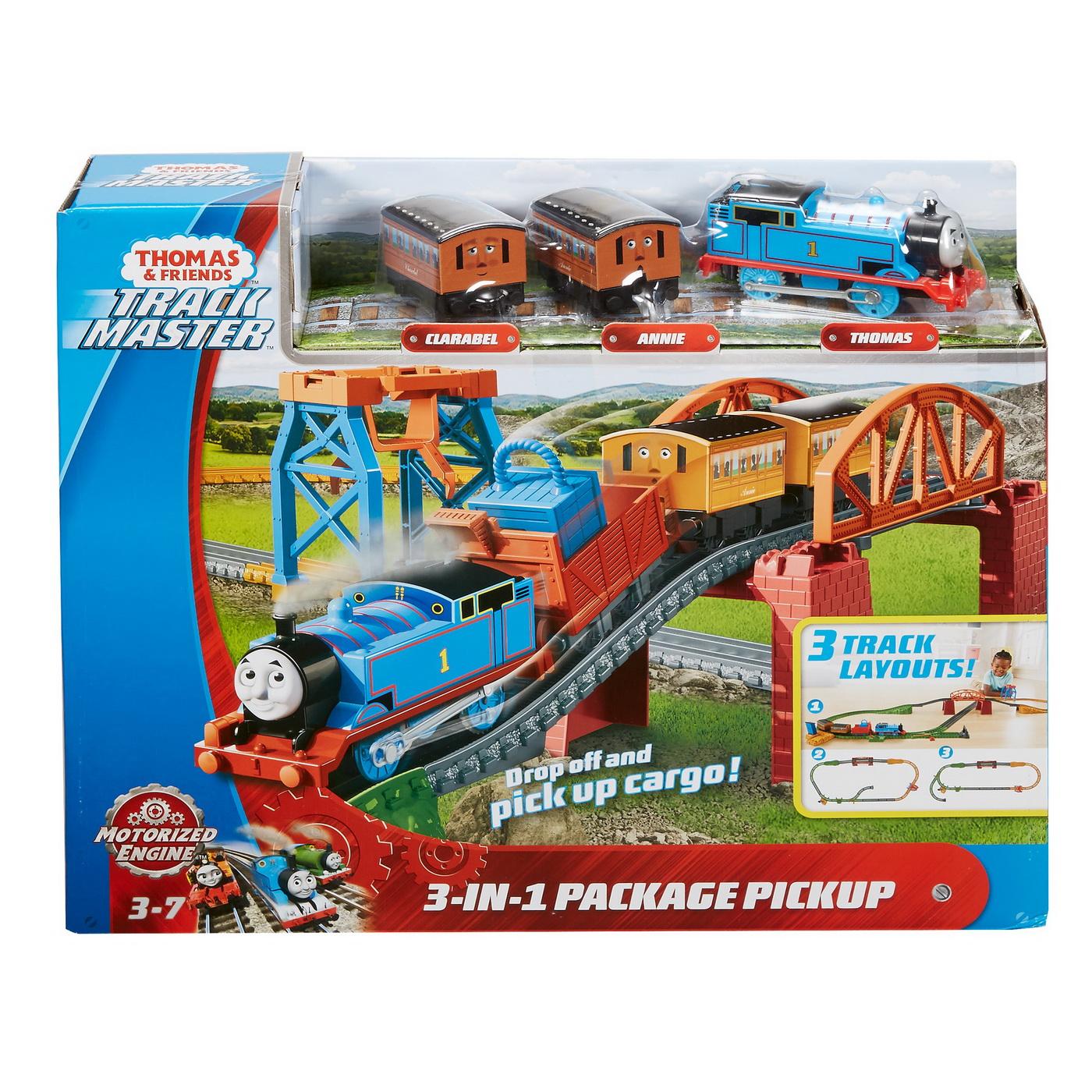 Thomas Set Motorizat 3in1