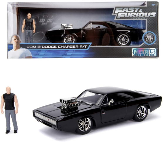 Masinuta Metalica Dodge Charger Fast And Furios 1970 Dominic Toretto