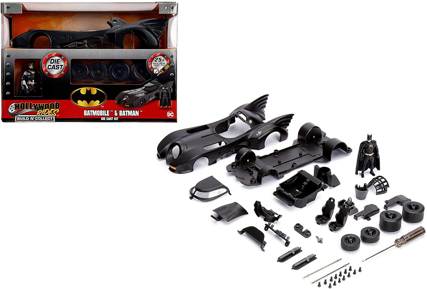 Masinuta Batman 1989 Build And Collect Scara 1 La 24