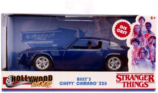 Masinuta Metalica Chevy Camaro 1979 Stranger Things