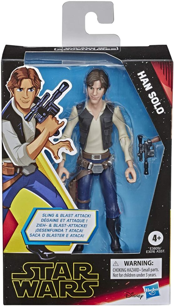 Figurina Starwars Han Solo 16cm Episodul 9